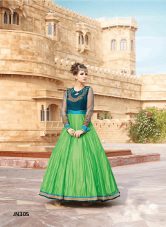 Anarkali Style Party Wear Long Gown - 305