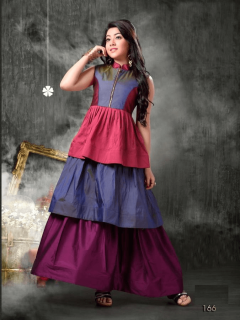 DESIGNER KIDS GOWN -166