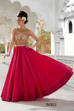Designer Embroidery Worked Fancy style Gown - 302