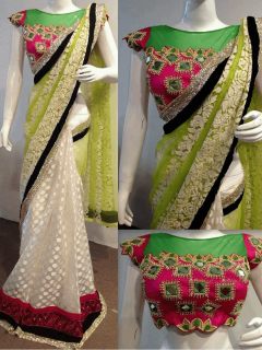 Party Wear Fancy Saree - KT17