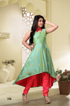 Party Wear Gown Style Suit - 158